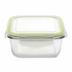 Квадратный стеклянный контейнер для еды BergHOFF большой