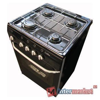 Газовая плита De Luxe 5040.38г, черная